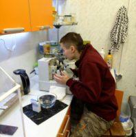 Ученик за работой. Фото 3
